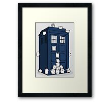 The Adipose Have the Tardis Framed Print