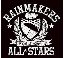 Rainmaker by Tai's Tees Photographic Print