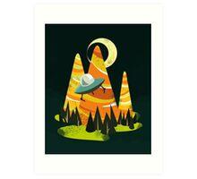 Montains Art Print