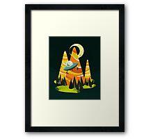 Montains Framed Print