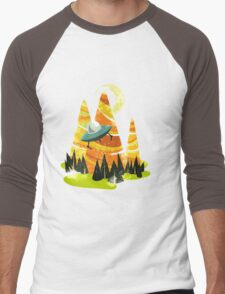 Montains Men's Baseball ¾ T-Shirt
