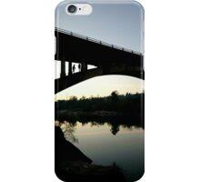 Evening on the Bridge iPhone Case/Skin