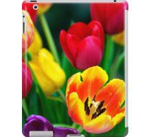 Colourful Tulips iPad Case/Skin