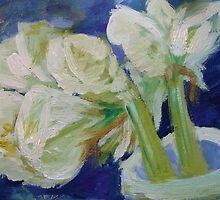 White Amaryllis by decorartuk