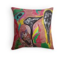Germs Throw Pillow