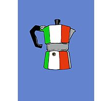 italian coffeepot Photographic Print