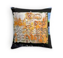 Do Little Acts of........ Throw Pillow