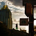 Austin 6th street, Frost Tower by LeGreg