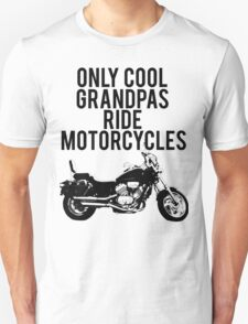 Cool Grandpas Ride Motorcycles T-Shirt