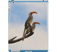 Yellow Billed Hornbill - Beak of Format iPad Case/Skin