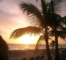 sunrise at Punta Cana, Dominican Rep by chord0