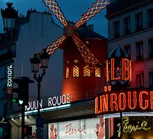 Le Moulin Rouge by wooly