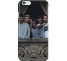 One Direction in Milan, Italy iPhone Case/Skin
