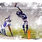 Odell Beckham Jr Catch by BaseballBacks