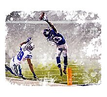 Odell Beckham Jr Catch Photographic Print