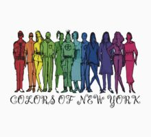 COLORS OF NY by fashionforlove