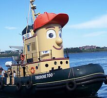 Theodore Tugboat by Glenn Esau