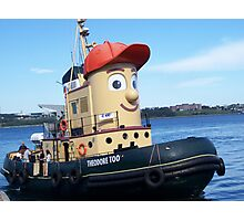 Theodore Tugboat Photographic Print