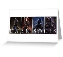 Dark Souls Warrior Greeting Card