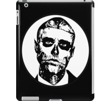zombie boy  iPad Case/Skin