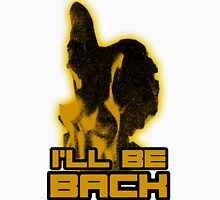 I'll be back Mens V-Neck T-Shirt
