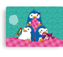 1-2-3 / We are Family! Canvas Print