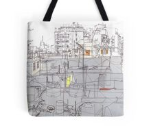 Beirut from a rooftop Tote Bag