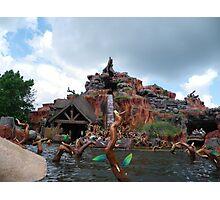 Splash Mountain Photographic Print