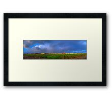 CLOUDS PANORAMA Framed Print