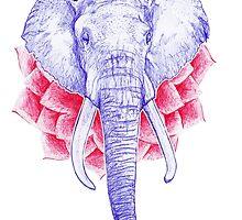 Zen Elephant by zazme