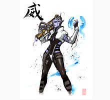 Aria from Mass Effect sumi and watercolor style Unisex T-Shirt