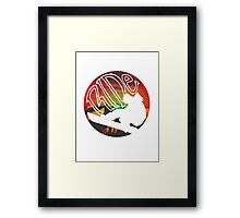 RIDE! Framed Print