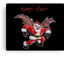 vampi-claus Canvas Print