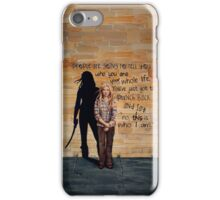 This is Who I Am iPhone Case/Skin