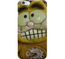 Garfield ate the canary! iPhone Case/Skin