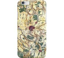 Map of the environs of Paris, France, Bonne,1780 iPhone Case/Skin