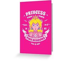 Princess Power Card Greeting Card