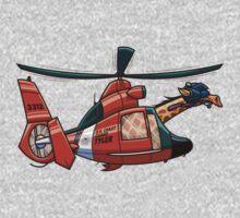 US Coast Guard Giraffe - Tyler One Piece - Long Sleeve