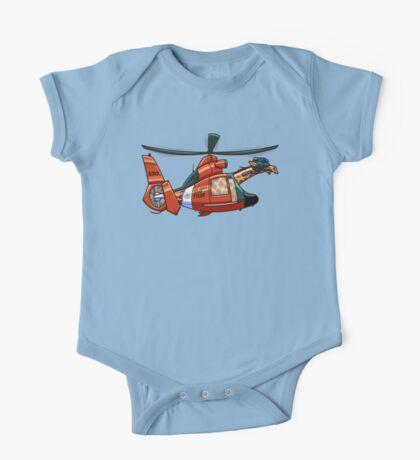 US Coast Guard Giraffe - Tyler One Piece - Short Sleeve