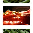 Vegetable Trio by Heidi Hermes