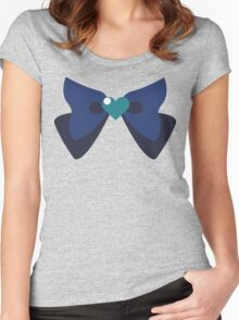 Sailor Neptune Ribbon (Sailor Moon) Women's Fitted Scoop T-Shirt