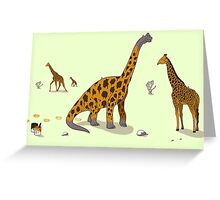 Brachiosaurus Greeting Card