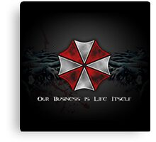 Umbrella Corporation Logo Canvas Print