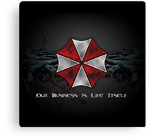 Umbrella Corporation Logo Canvas Print