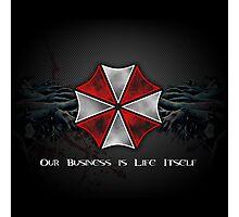 Umbrella Corporation Logo Photographic Print