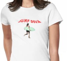 Surf Diva Womens Fitted T-Shirt