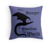 The World Eater Throw Pillow