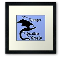 The World Eater Framed Print