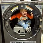 Max testing a new dryer by KSKphotography
