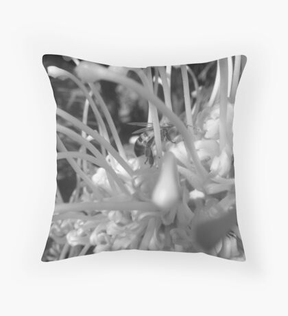 Wattle Visit Throw Pillow